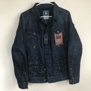 ba00ee35885 G Star Raw ARC Denim 3D Sleeve JKT jean jacket M. NWT